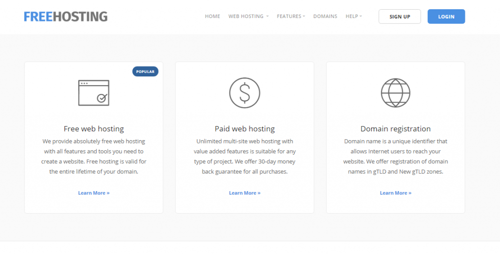 The Top 10 Best Web Hosting Free Providers List